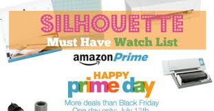 amazon 2016 black friday deals prime membership amazon prime day 2016 silhouette cameo accessory must haves
