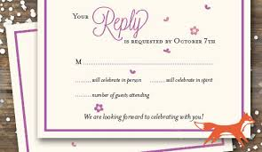 wedding reply cards wedding rsvp wording ideas and format 2017 edition rsvpify