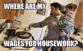 Men Cooking Meme - wages for housework memes male la imc
