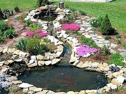 Backyard Pond Ideas Small Pond Garden Ideas Collection In Backyard Pond Landscaping