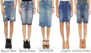 denim skirts best denim skirts it s all in the bag snob