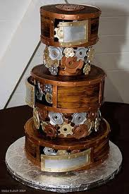 unique wedding cakes 12 unique wedding cakes that don t look like wedding cakes venuelust