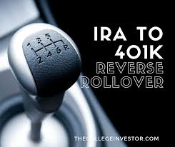 Irs Publication 590 Life Expectancy Table Understanding The Ira To 401k Reverse Rollover