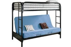 Kids Bunk Beds Futon Bunk Bed Wood Loft Beds The Futon Shop - Futon mattress for bunk bed