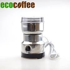 moulin graines de cuisine livraison gratuite en acier inoxydable moulin à café électrique