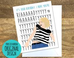 funny birthday card etsy