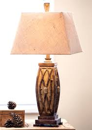 Cabin Light Fixtures Lodge Style Table Lamps With Rustic Cabin Lighting Black Forest D