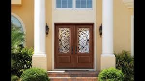Double Front Entrance Doors by Double Front Doors 10 Double Door Designs Youtube