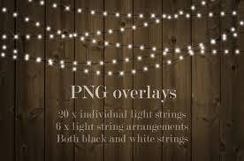 christmas lights by paper farms thehungryjpeg com
