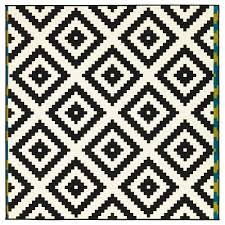 Pattern Rug How To Make A Statement With Black And White Rugs Greenvirals Style