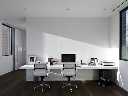 interior awesome home office design with minimalist computer