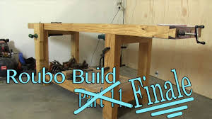 build a solid workbench on a budget split top roubo part 12
