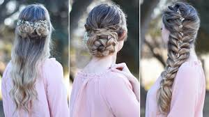 3 prom hairstyles updo cute girls hairstyles youtube