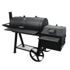 rivergrille farmer u0027s charcoal grill and offset smoker gr1008