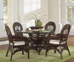 Indoor Wicker Dining Room Chairs Comfortable With Indoor Rattan Dining Chairs