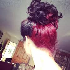 dye bottom hair tips still in style under dye red inspiration and action hair ideas pinterest