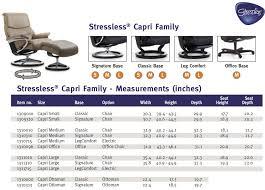 Stressless Capri Recliners Chairs Ekornes Stressless Capri Recliner