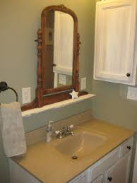 Beveled Bathroom Mirrors by Bathroom Furniture Bathroom Black Framed Bathroom Mirror And