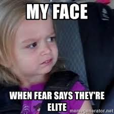 Little Girl Face Meme - unimpressed little girl meme generator