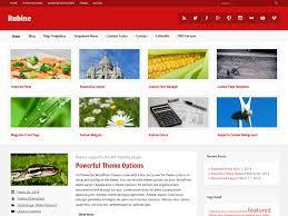 colors home page rubine lite u2014 free wordpress themes