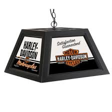 harley davidson pool table light h d quality motorcycles pendant l black at ace branded products