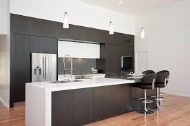 2 Tone Kitchen Cabinets by Kitchen Modern Minimalist Two Tone Kitchen Cabinets With Dark Grey