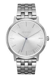 Silver Accessories Porter Men U0027s Watches Nixon Watches And Premium Accessories
