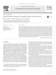 andr si ge social social and political impacts of renewable pdf available