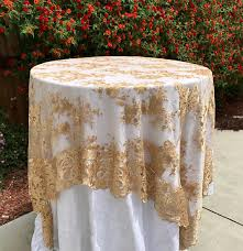 gold lace table runner gold lace tablecloth gold table overlay lace table overlay