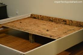 How To Make A Box Bed Frame How To Make A Sturdy Bed Frame Bed Frame Katalog 829af8951cfc