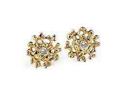 gold diamond earrings tiny diamond studs diamonds 9ct gold stud earrings gold
