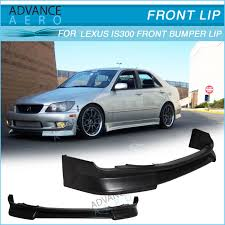 02 lexus is300 for 01 02 03 04 05 lexus is300 front bumper lip wald style poly
