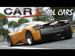 all the cars project cars all the cars hd