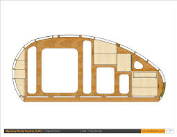 Teardrop Camper Floor Plans Collections Of Trailer Plans Download Free Home Designs Photos