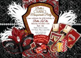 Party Invitation Cards Designs Casino Party Invitations Theruntime Com