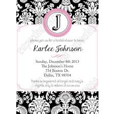 bridal shower and wedding invitations