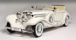 mercedes 500k 1936 mercedes 500k 1 18 die cast model historic rail