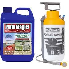 Doff Patio Cleaner Patio Magic Green Mould And Algae Killer Liquid Concentrate Bottle