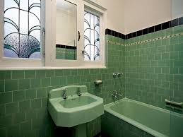 Art Deco Tile Designs 36 Art Deco Green Bathroom Tiles Ideas And Pictures