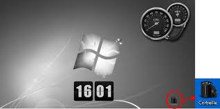 comment remettre l icone corbeille sur le bureau tutoriel icônes corbeille l installation sous windows 7 ou vista
