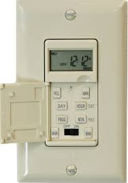 Ge 7 Day 8 Outlet by 7 Day In Wall Digital Programmable Light Timer Switch Electrical