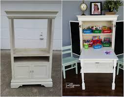 Kids Art Desk With Storage by Home Amazing Repurpose Armoire Ideas Repurposed Armoire Vanity