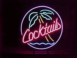 palm tree neon light custom neons custom neon signs bar decorations