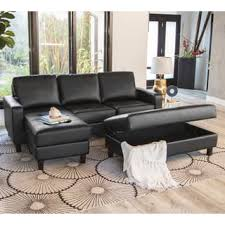 Sectional With Ottoman Ottoman Included Sectional Sofas For Less Overstock