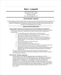 It Resume Examples by It Resume Template 6 Free Word Excel Pdf Documents Download