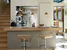 modele cuisine ouverte idée relooking cuisine modèle de cuisine moderne avec meubles bois