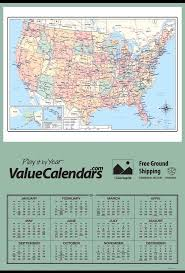 Usa State Map by 84 Best Commercial Advertising Calendars Images On Pinterest