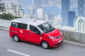 nissan nv200 taxi hong kong taxi services to adopt the lpg fed nissan nv200 mobility