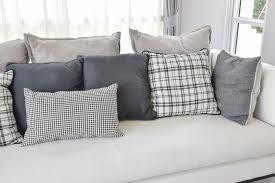 Grey Decorative Pillows 35 Sofa Throw Pillow Examples Sofa Décor Guide