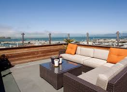 Russian Hill Upholstery Russian Hill Roof Deck Roof Deck Lounge Contemporary Patio